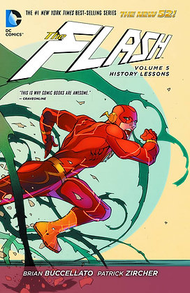 FLASH TP VOL 05 HISTORY LESSONS