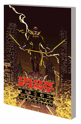 IRON FIST THE LIVING WEAPON TP VOL 02 REDEMPTION