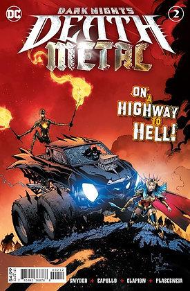 DARK NIGHTS DEATH METAL #2 (OF 6) Second printing