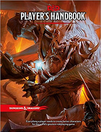 D&D PLAYERS HANDBOOK 5TH EDITION