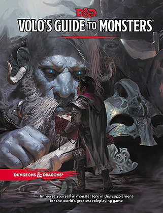 D&D DUNGEONS & DRAGONS RPG: VOLO'S GUIDE TO MONSTERS