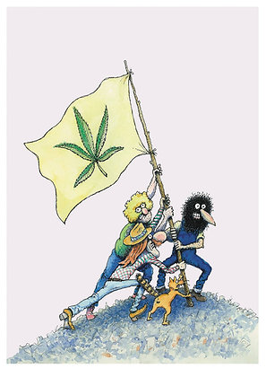 FIFTY FREAKIN YEARS WITH THE FABULOUS FURRY FREAK BROTHERS TP (KNOCKABOUT) (MR)