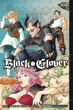 BLACK CLOVER GN VOL 07