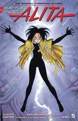 BATTLE ANGEL ALITA DELUXE ED HC VOL 05