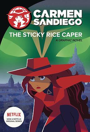 CARMEN SANDIEGO GN VOL 01 STICKY RICE CAPER