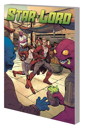 LEGENDARY STAR-LORD TP VOL 04 OUT OF ORBIT