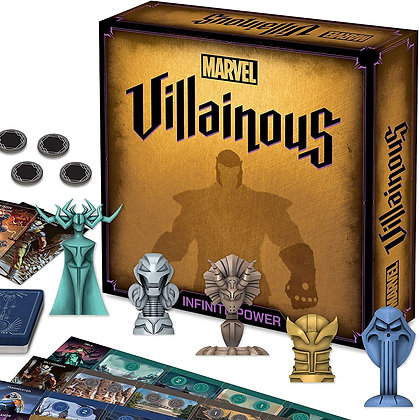 MARVEL VILLAINOUS INFINITE POWER BOARD GAME