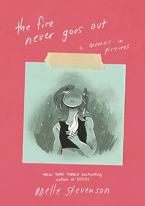 FIRE NEVER GOES OUT MEMOIR IN PICTURES HC GN