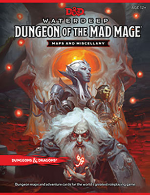 D&D DUNGEONS & DRAGONS RPG: WATERDEEP - DUNGEON OF THE MAD MAGE MAP PACK