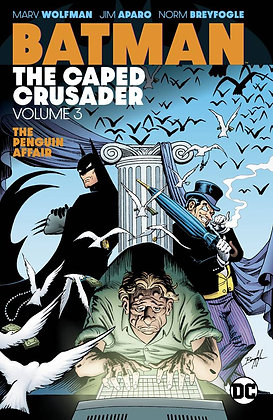 BATMAN THE CAPED CRUSADER TP VOL 03