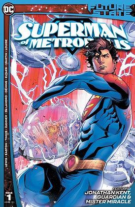FUTURE STATE SUPERMAN OF METROPOLIS #1 (OF 2) CVR A JOHN TIMMS
