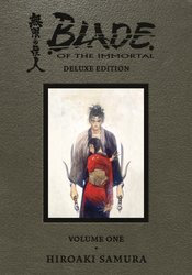 BLADE OF THE IMMORTAL DLX ED HC VOL 01 (MR)