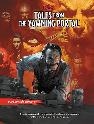 D&D DUNGEONS AND DRAGONS RPG: TALES FROM THE YAWNING PORTAL