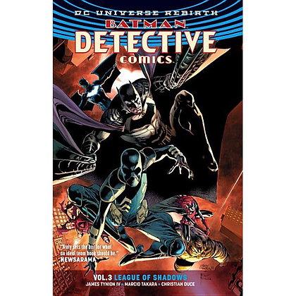BATMAN DETECTIVE COMICS TP VOL 03 LEAGUE OF SHADOWS (REBIRTH)