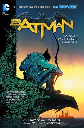 BATMAN TP VOL 05 ZERO YEAR DARK CITY (N52)
