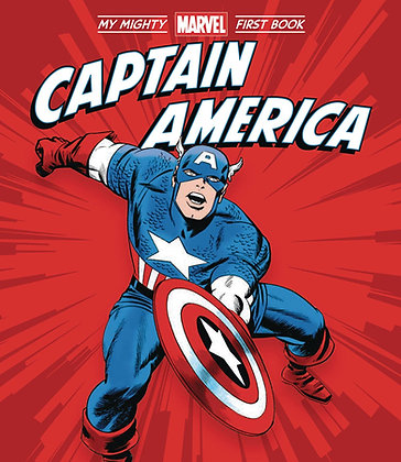 CAPTAIN AMERICA MY MIGHTY MARVEL FIRST BOOK BOARD BOOK