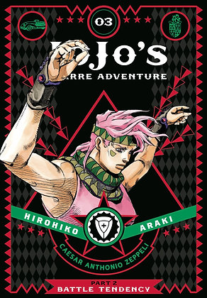 JOJOS BIZARRE ADVENTURE 2 BATTLE TENDENCY HC VOL 03