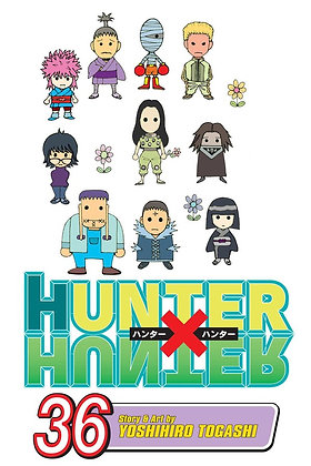 HUNTER X HUNTER GN VOL 36