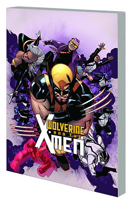 WOLVERINE AND THE X-MEN TP VOL 01 TOMORROW NEVER LEARNS
