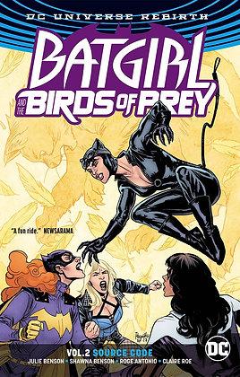 BATGIRL & THE BIRDS OF PREY TP VOL 02 SOURCE CODE (REBIRTH)