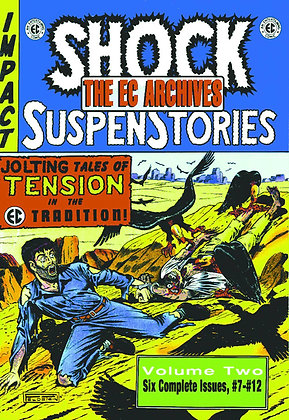 EC ARCHIVES SHOCK SUSPENSTORIES HC VOL 02