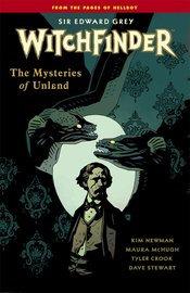 WITCHFINDER TP VOL 03 MYSTERIES OF UNLAND