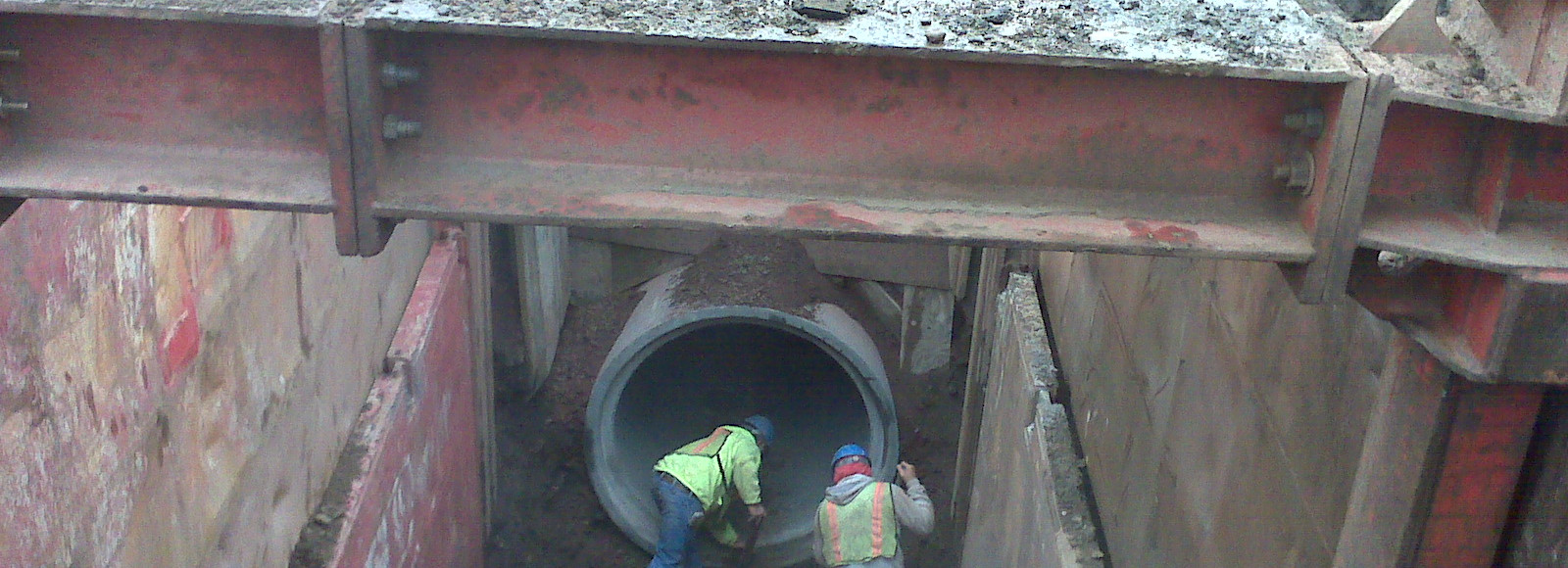 BAJSA - 84in Reinforced Concrete Pipeline
