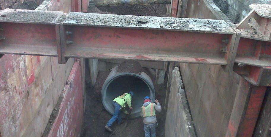 BAJSA - 84in Reinforced Concrete Pipeline