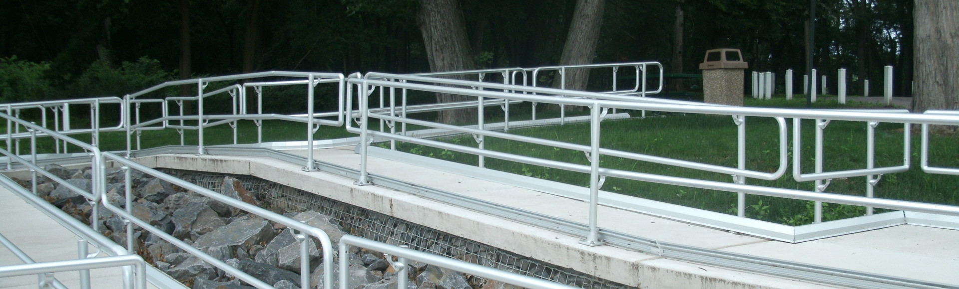 Access Ramp at Riverfront Park