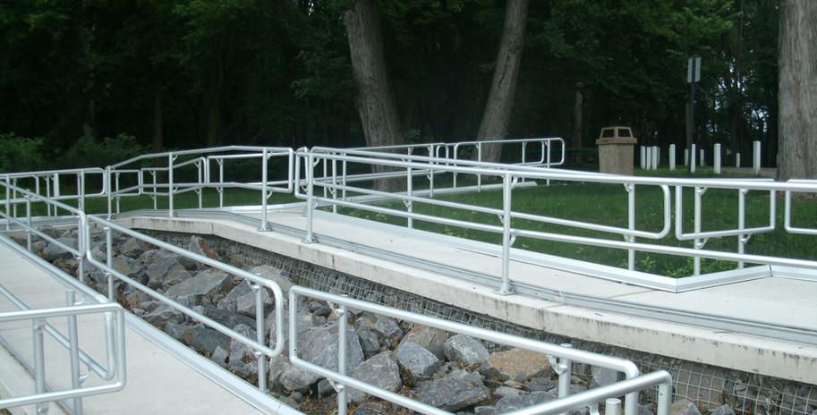 Access Ramp at Riverfront Park