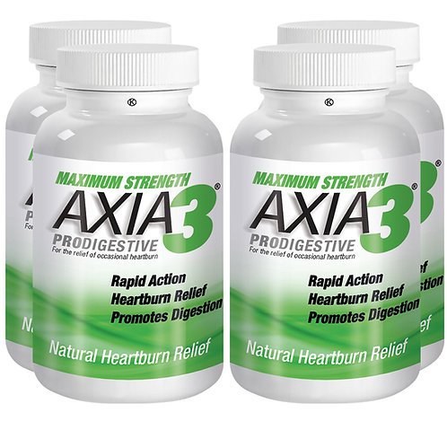 Bundle of Axia3 Max Strength ProDigestive Heartburn Relief (90 ct)