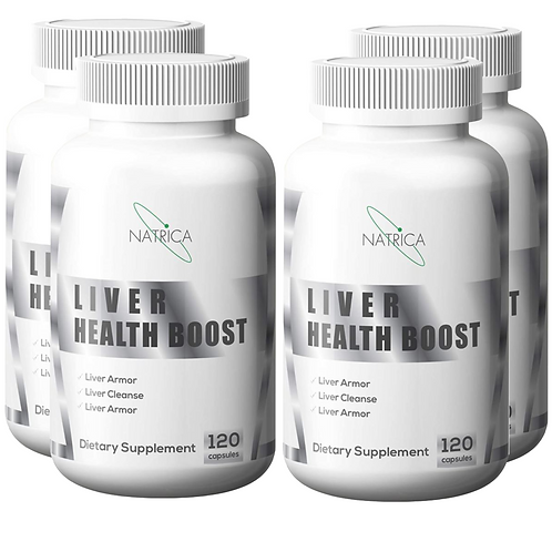 Bundle of Natrica Liver Health Boost and Detox (120 ct)