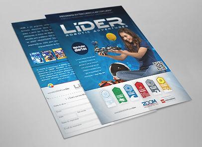 Flyer Programa Líder