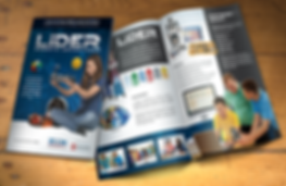 Folder Programa Líder