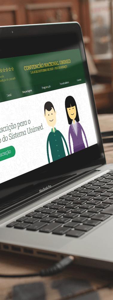 Site Desktop Convenção Nacional Unimed 2018