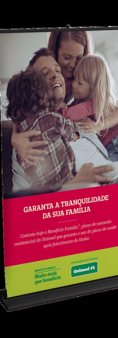 Banner Benefício Família Unimed