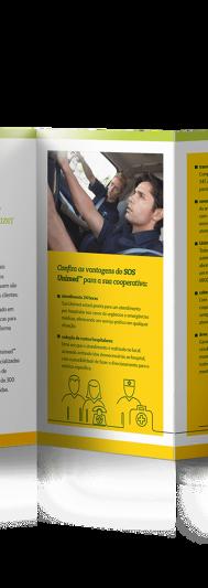 Folder SOS Unimed - Interno