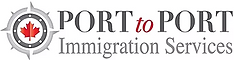 Logo Port to Port Immigration