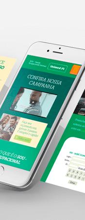 Site SOU - Saúde Ocuoacional Unimed