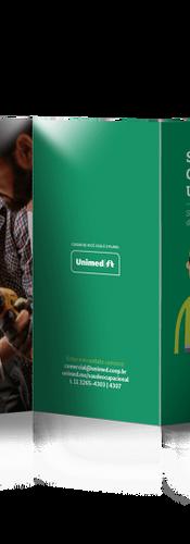 Folder SOU - Saúde Ocupacional Unimed - Frente