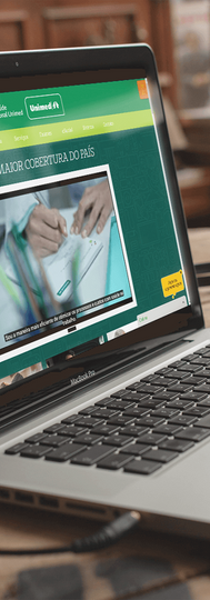 Site Desktop SOU - Saúde Ocupacional Unimed (B2C)