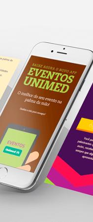 Site Eventos Unimed 2018 + Download App