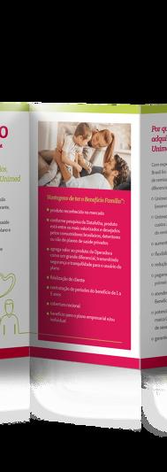 Folder Benefício Família - Interno