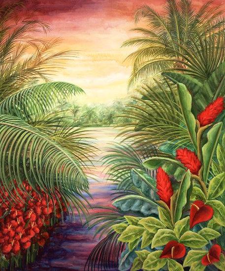 Tropical Landscape I