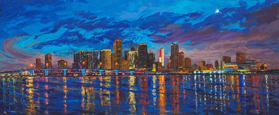 Miami Skyline III