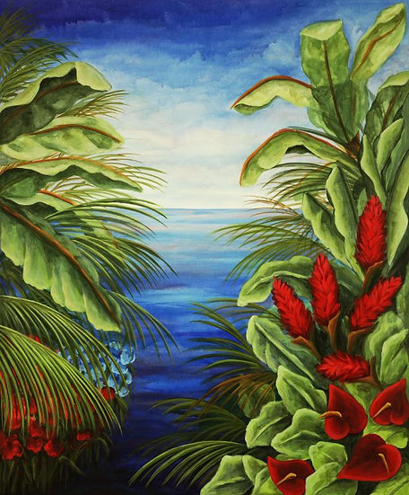 Tropical Landscape III