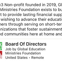 Global Education Ministries Foundation