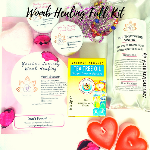 "Womb Healing Starter Kit ""Full"""