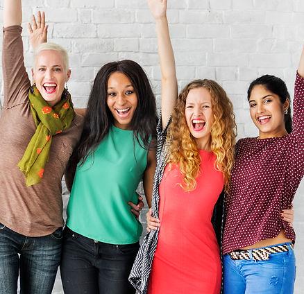 Canva - Group of Women Happiness Cheerfu