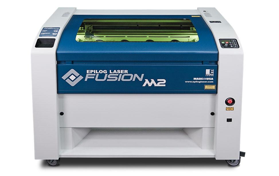Image of a laser cutter machine